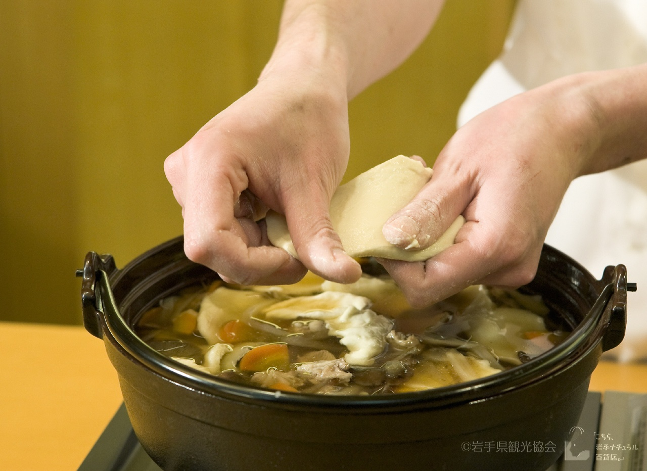 Hittsumi, an nabe with hand-made dumplings