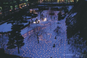 Morioka's Snow Lights Festival