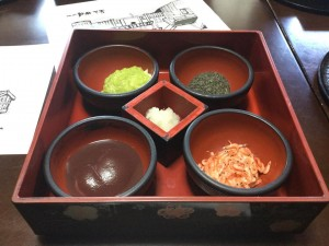 The mochi lunch