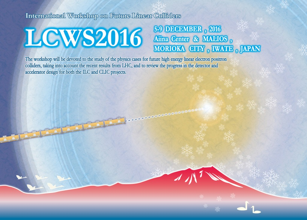 Click the banner to jump to the official LCWS 2016 homepage